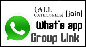 All Categories Whatsapp Group Link 2021