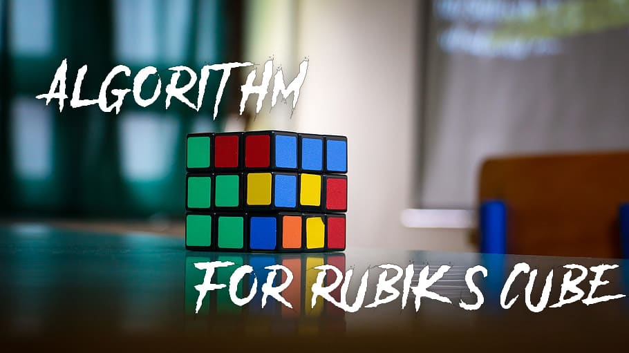 algorithm for Rubik's cube