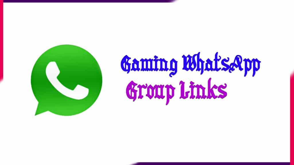 gaming whatsapp group Links