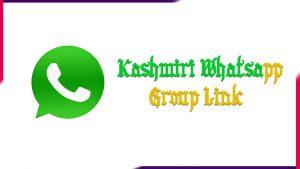 Kashmiri Whatsapp Group Link | Active Group 2020