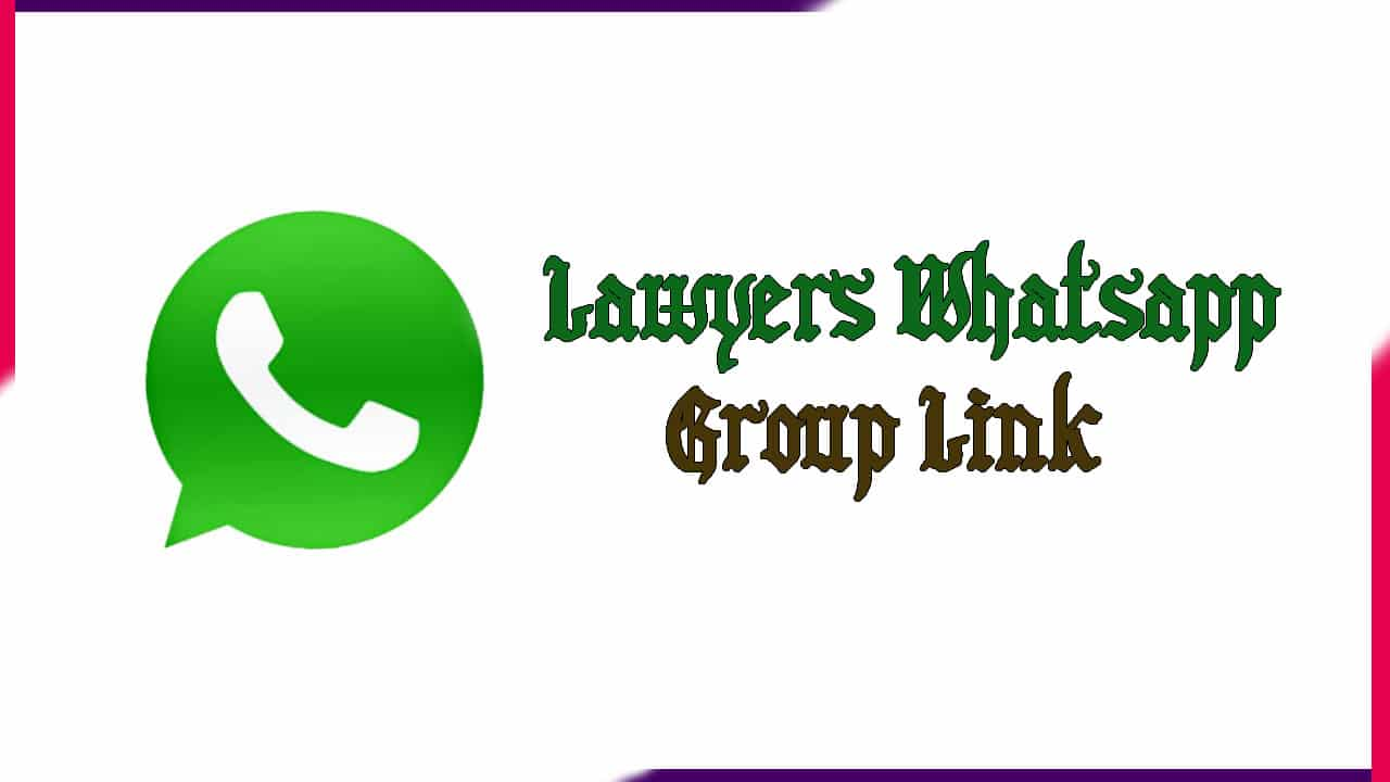 Lawyers Whatsapp Group Link