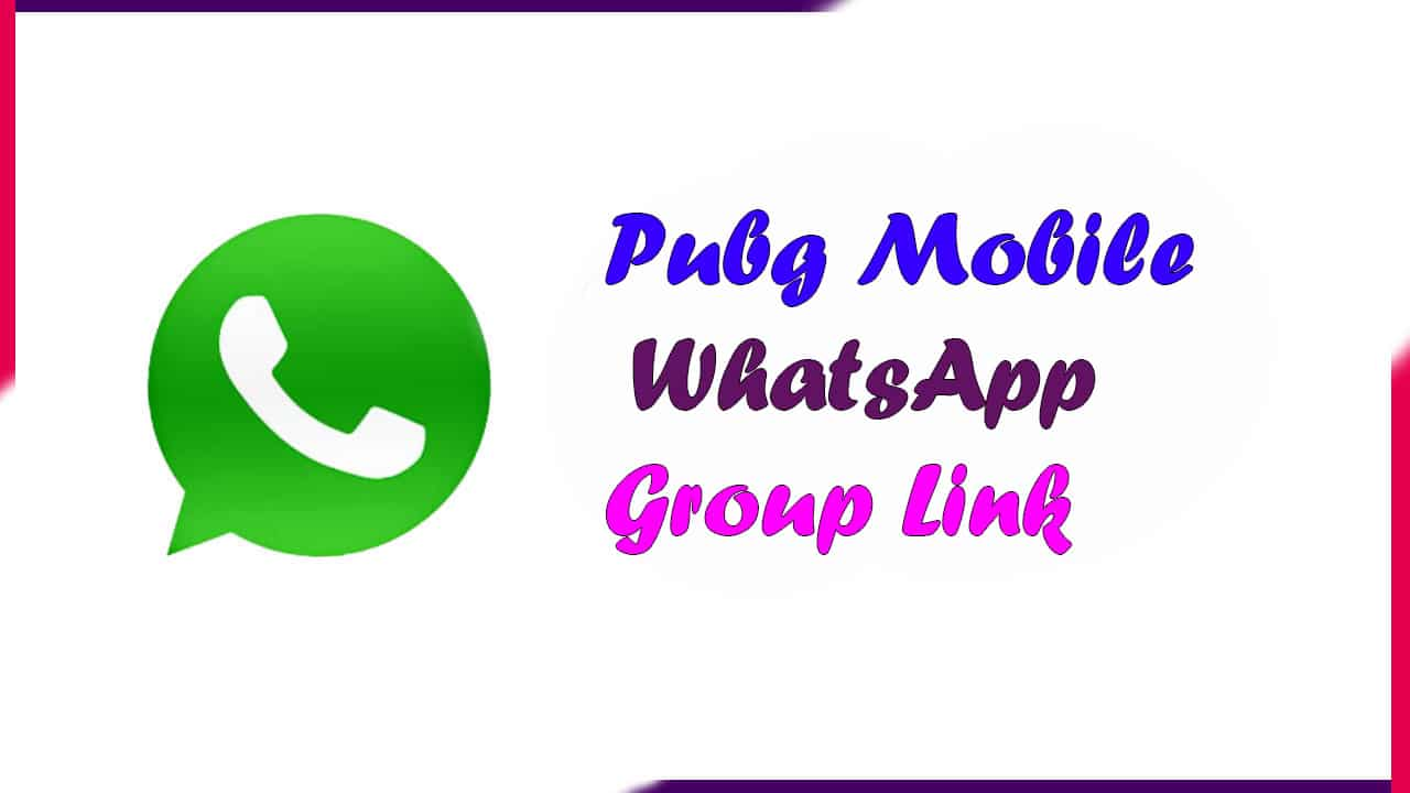 Pubg Mobile WhatsApp Group Link