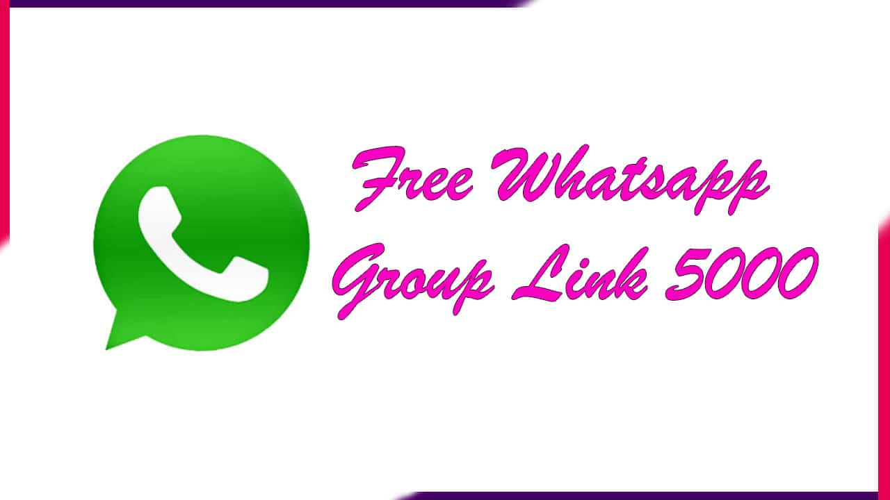 Free Whatsapp Group Link 5000 | Active Group 2021